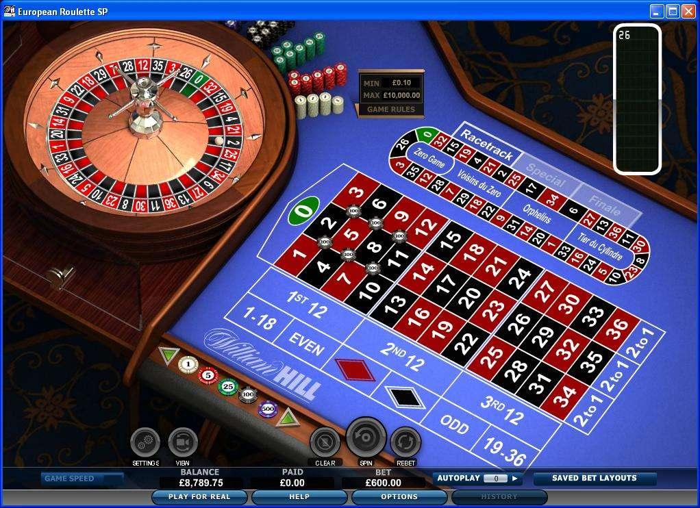 Giocate roulette, slot o blackjack