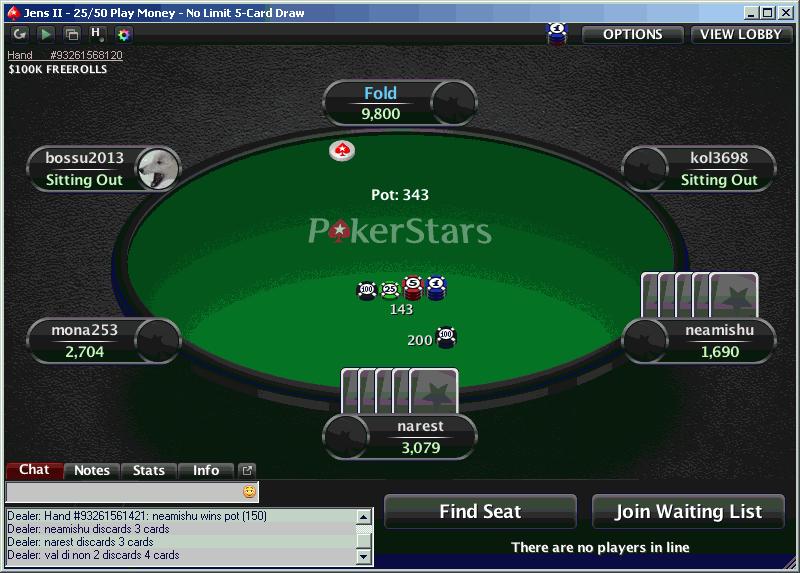 GDpoker o PokerStars