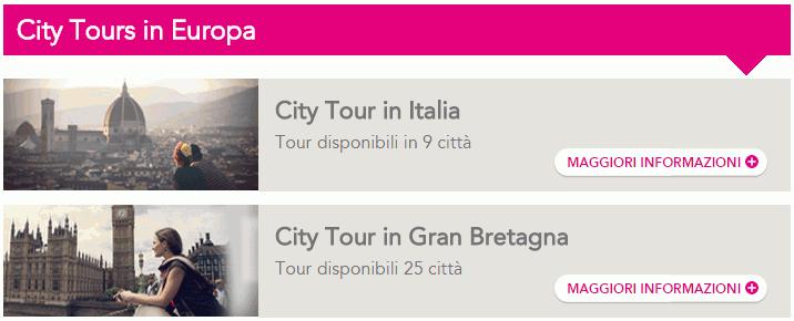 Terravision City Tour Europa
