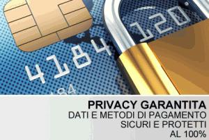 Metodi di pagamento sicuri 100%