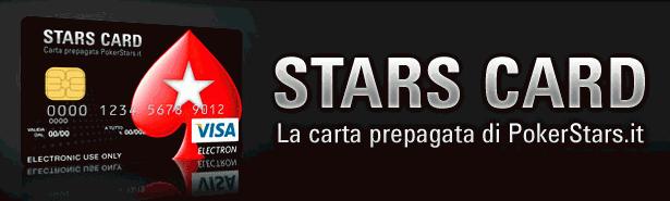 La carta prepagata di PokerStars.it