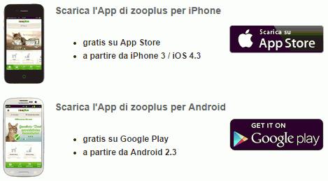 Nuova Zooplus App