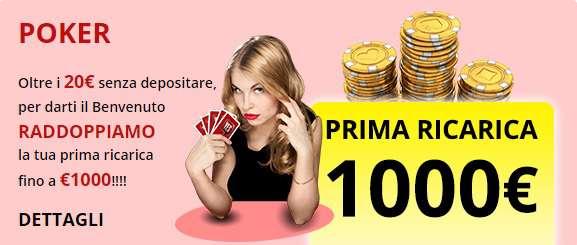 promozione poker
