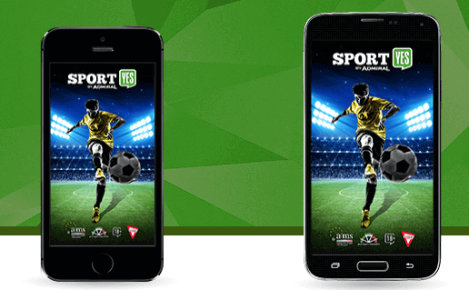 mobile app admiral yes per Sportyes