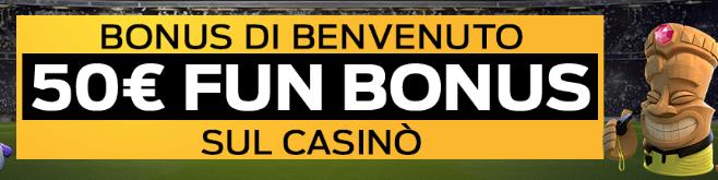 bonus casino planetwin365