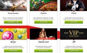 sezioni betclic scommesse casino bingo poker