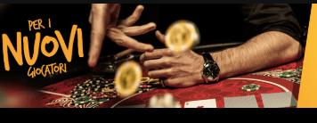 bonus benvenuto poker